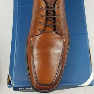 LEATHER BROWN NUNN BUSH MENS SHOES SIZE 10M